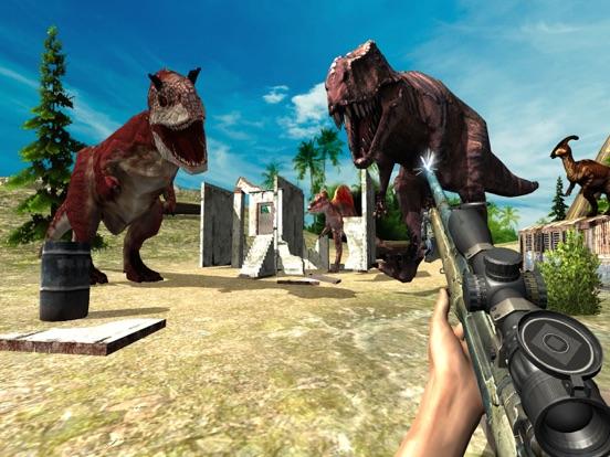 Скачать игру Дино Охота: Джунгли Снайпер Стрелялки RPG