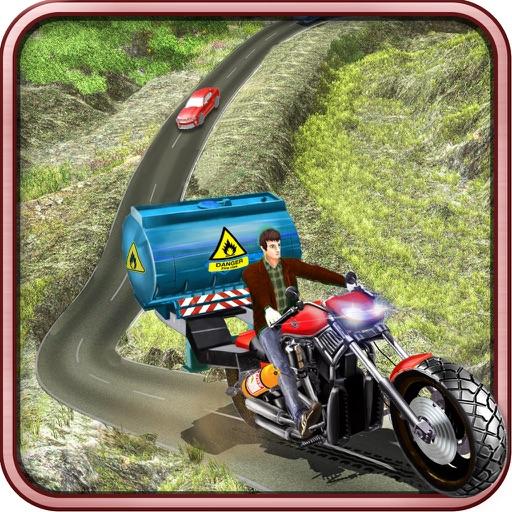 Offroad Oil Tanker Moto Bike Transporter iOS App