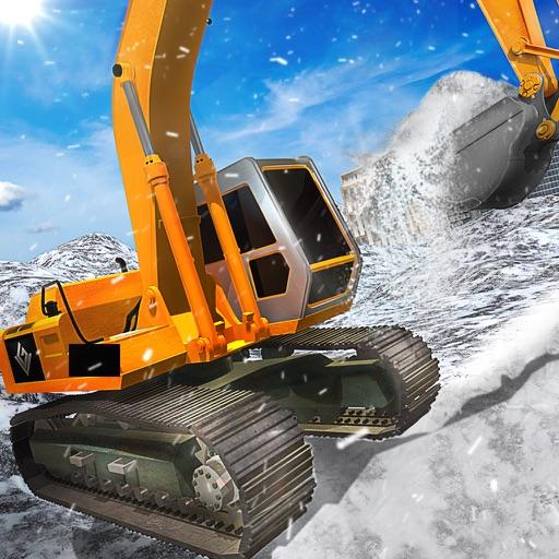 Winter Snow Truck Excavator 3D iOS App