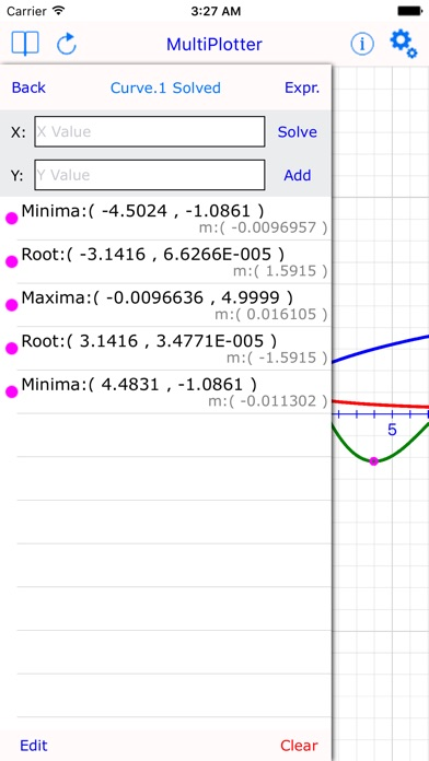 Multi Plotter : graphing calculator made easy Screenshots