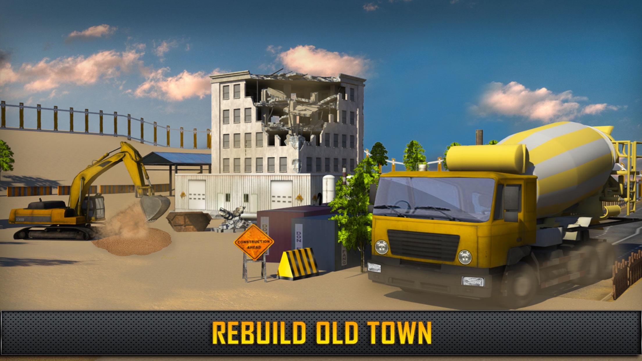 Hill Construction Crane Operator & Truck Driver 3D by Waqas AkramHill Construction Crane Operator & Truck Driver 3D