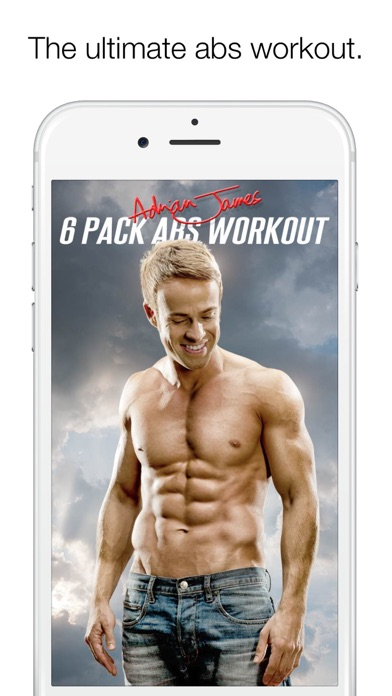 Screenshot Adrian James 6 Pack Abs Workout