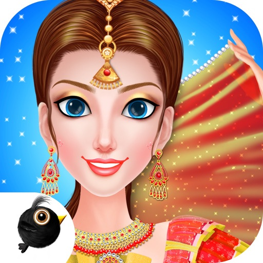 Indian Girl Makeover - Trendy Style Dress Up Game iOS App