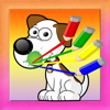 Coloring Game Little Dog For Kids