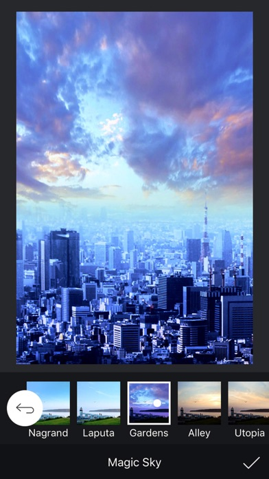 滤镜相机 - 魔法天空 - PRO