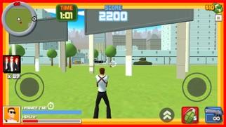 犯罪都市シューティング - ギャングガンバトルのスクリーンショット3