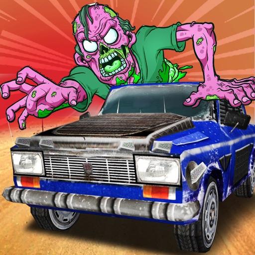 Zombie Crush Free - Free Zombie Dash Racing Games iOS App