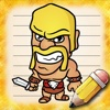 Drawing Clash of Clans edition clash of clans