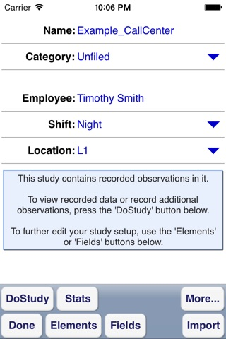 WorkStudy+ 6 for Time Study screenshot 3