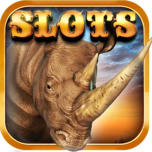 White Rhino Thunder Horn - Casino Slots Raging iOS App