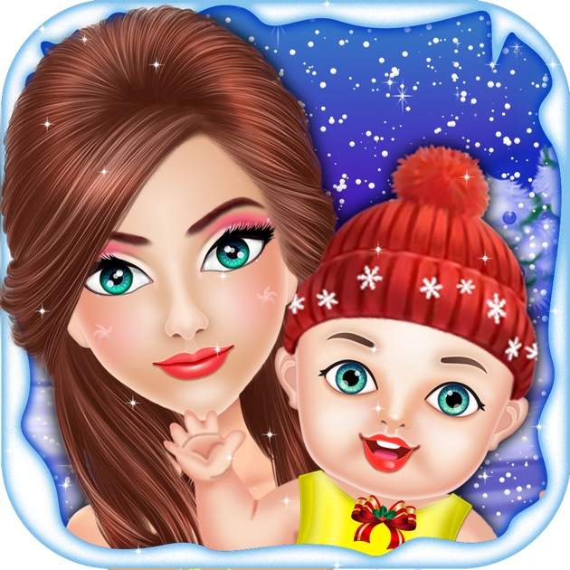 Games For Girls By Siraj Admani: Christmas Mommy & NewBorn Baby