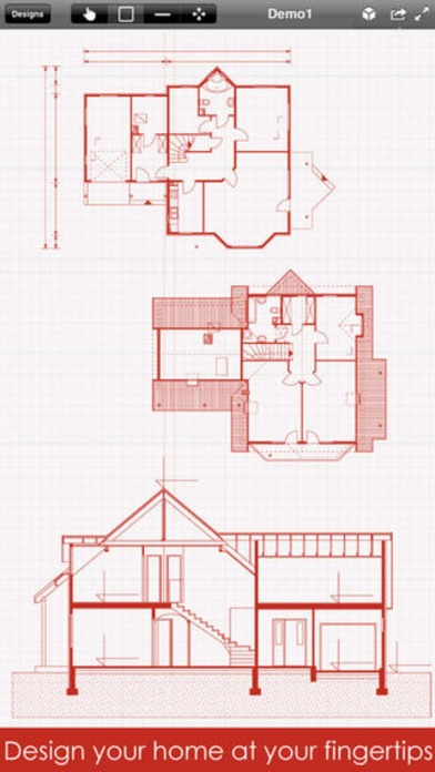 Home Design Pro : Interior Design & Floor Plan CAD on the App Store
