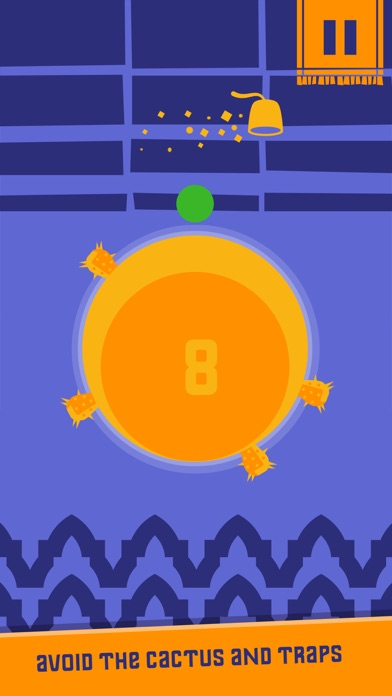 Bomb Cactus: Bounce around the Planet Screenshot