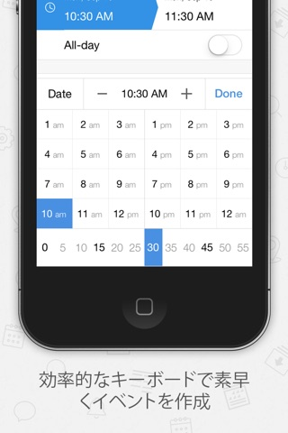 Tiny Calendar Pro screenshot 3