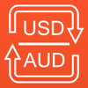 US Dollars to Australian Dollars converter