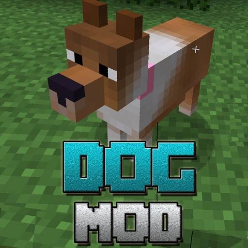DOG MOD - Pet Dogs & Mermaid Mods for Minecraft PC Icon