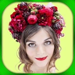 Telecharger Couronne De Fleur S Cheveux Retoucher Photo Montage Pour