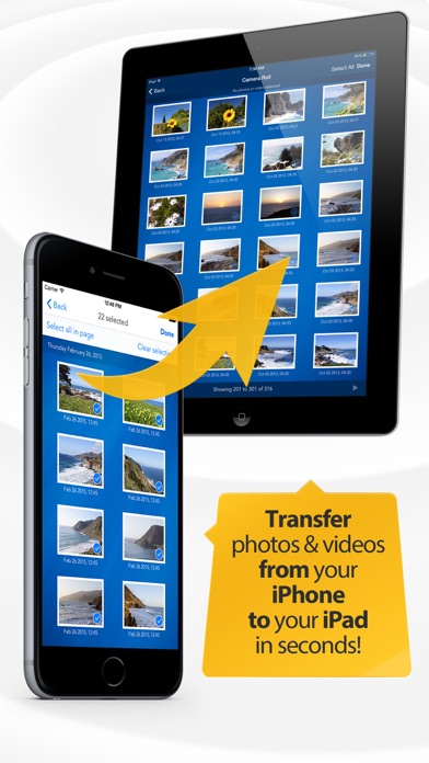 Photo Transfer App - Easy backup of photos+videos Screenshots