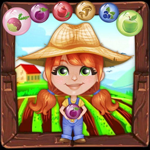 Bubble Shooter Farmer : Free Arcade Bubble shooter iOS App