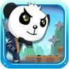 Ninja panda angry run game