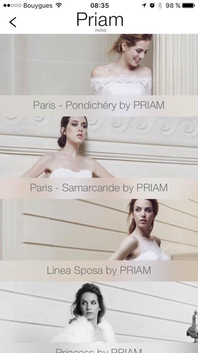 Priam ParisCapture d'écran de 3