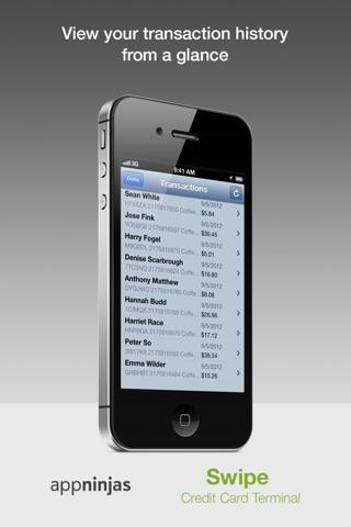 Swipe Credit Card Terminal screenshot 4