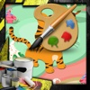 Coloring Games Safari Animals Version