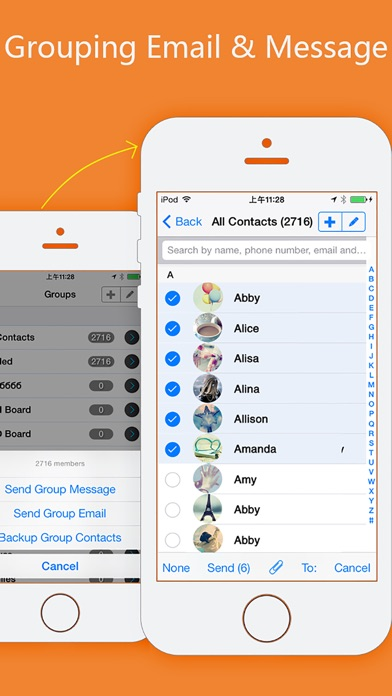 Contacts Sync, Backup & Clean - AppAddict