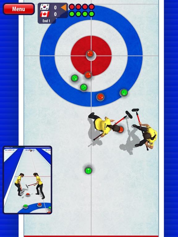 Скачать игру Curling3D HD