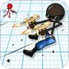 Sniper Shooter Stickman American: Shot Kill Bravo