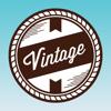 Conception vintage: créateur de logos et d'affich