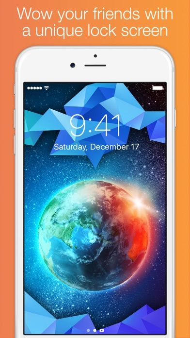 Screenshot #9 for Lock Screens - Free Wallpapers & Background Themes