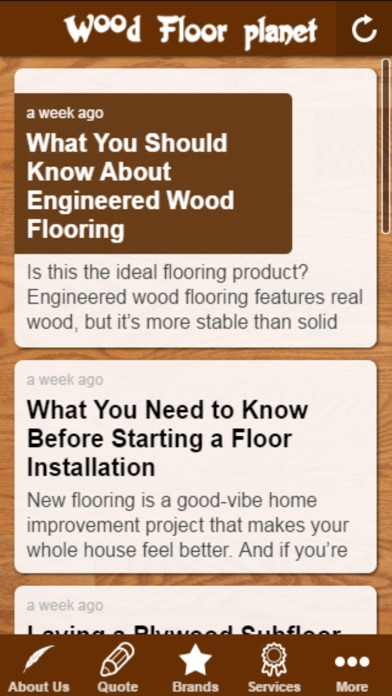 Wood Floor Planet on the App Store