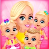 Mommy's Triplets Baby Story - Makeup & Kids Games