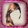 可愛的女孩髮型 - 髮梳改造遊戲改變你的頭髮顏色嘗試流行的風格