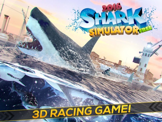 Shark Simulator 2016 | Funny Hungry Shark Game-ipad-0