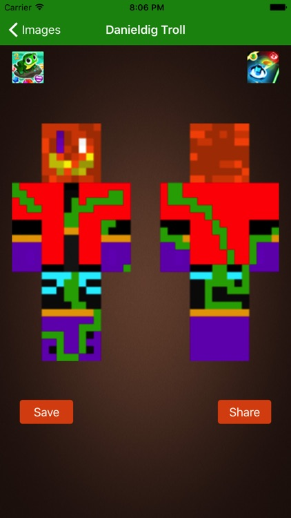 Vampire Halloween Skins for Minecraft PE & PC by fatna chaib