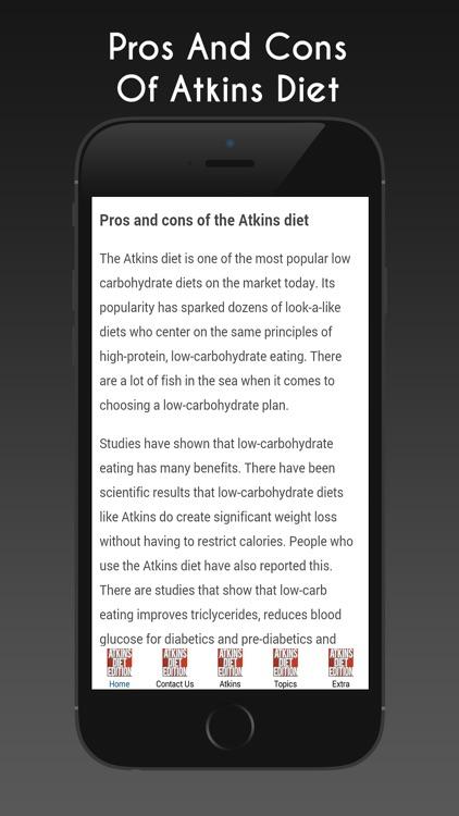 atkins diet edition screenshot 4