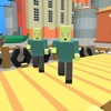 Infected Pixel Zombies Sniper Mission Game pixel people