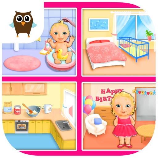 Sweet Baby Girl - Dream House and Play Time iOS App