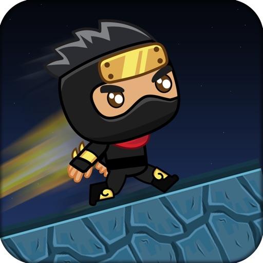Ninja Wall Runner iOS App