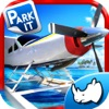 Sea plane Exotic Island Real Fly & Park Airplane Racing Game