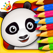 Forest: Coloring book games for baby and kids free