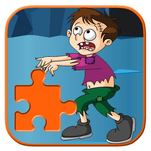 Crazy Tiny Zombie Jigsaw Puzzle Game For Kids iOS App