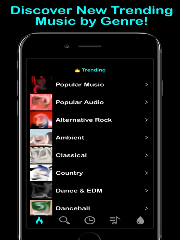 Woosik ad free music streaming for soundcloud on the app store ipad screenshot 2 ccuart Image collections