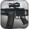 Assembly and Gunfire: Assault Rifle SIG-552 - Firearms Simulator with Mini Shooting Game for Free by ROFLPlay