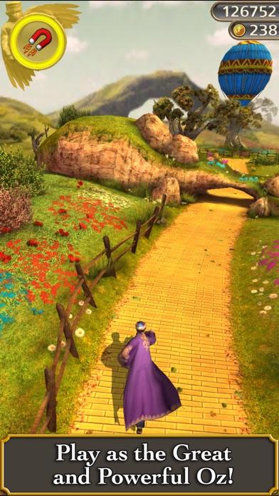 Screenshots of Temple Run: Oz for iPhone