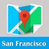 San Francisco metro transit trip advisor map guide