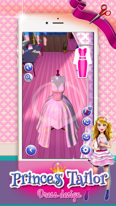 Игра дизайнер одежды платьев