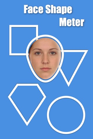 Face Shape Meter - find out face shape from photo screenshot 1